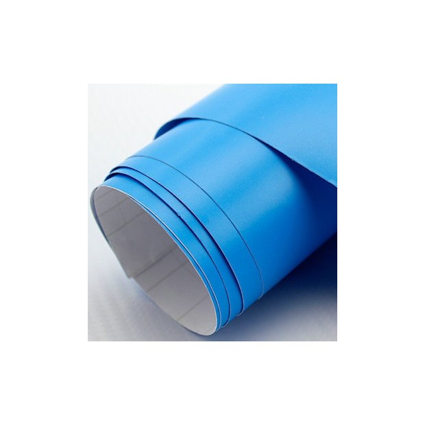 Blue vinyl Matte 75 x 152 cm