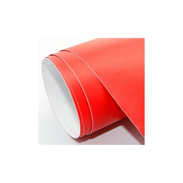 Vinilo Rojo Mate 25 x 152 cm