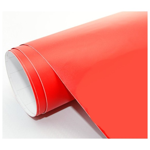 Rotes vinyl Matte 75 x 152 cm