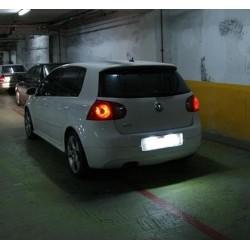 La retombée de plafond de LED inscription Volkswagen Golf IV (1997-2004)