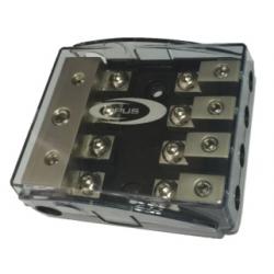 Concessionnaire avec porte-fusible AFC 3 entrées de 21 mm 4 sorties, 10mm