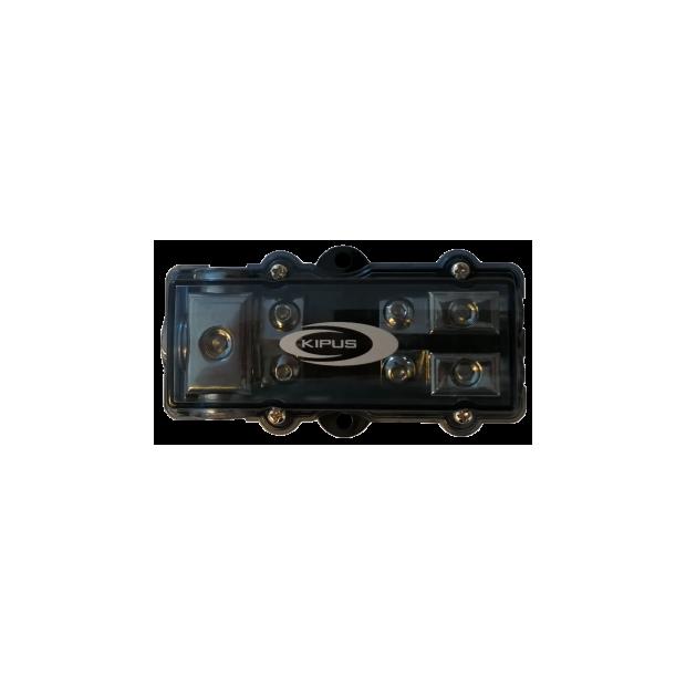 Dealer com fusível AFC 1 entrada de 21 mm 2 saídas de 10 mm.
