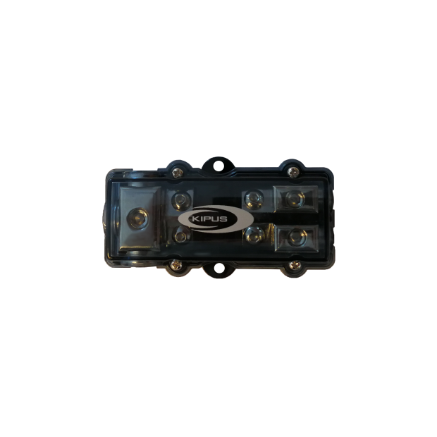 Repartidor con portafusibles AFC 1 entrada de 21 mm 2 salidas de 10 mm