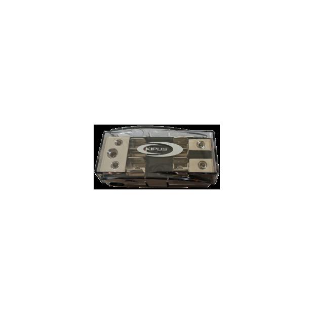 Repartidor con portafusibles AGU 2 entradas de 21mm, 1 entrada de 35 mm, 2 salidas de 16 mm