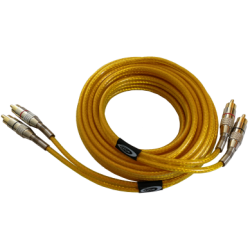 RCA Cable 5 m triple screen, pure OFC