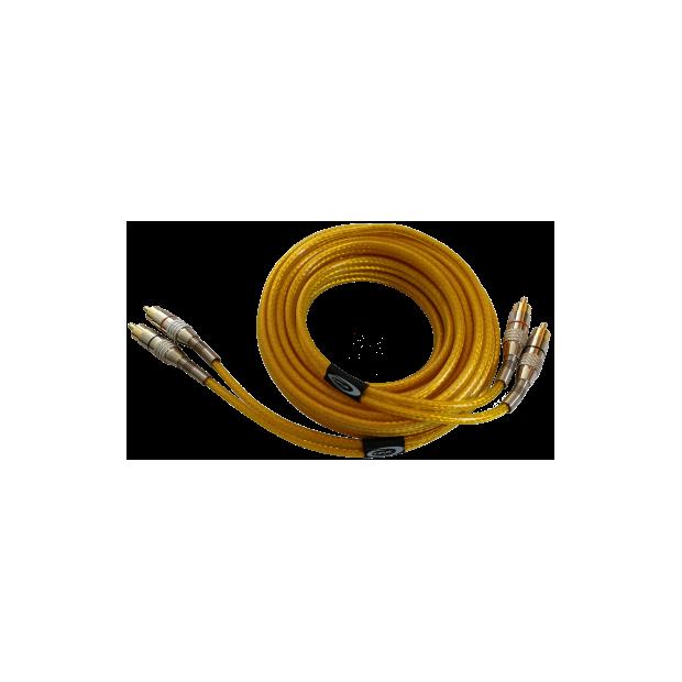 RCA-kabel 5 m-dreifach-display, reines OFC