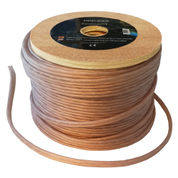 Cable altavoz puro OFC 2x2,5 mm. Bobina 50 mts