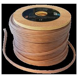 Câble de haut-parleur pur OFC 2x2,5 mm Bobine de 50 mètres
