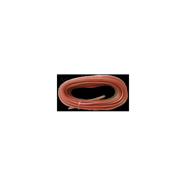 Câble haut-parleur 2x1,5 mm Blister de 10 mts