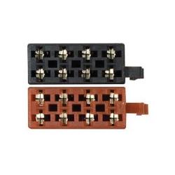 ISO-stecker-buchsen, - lautsprecher-und stromversorgung