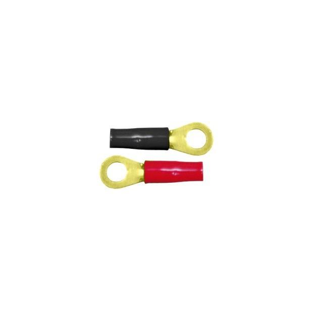 Runde 8 mm für kabel, 10 mm (10 stück)