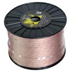Câble haut-parleur 2x1,5 mm Bobine de 100 mètres