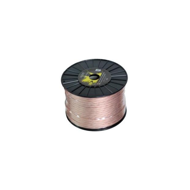 Câble de haut-parleur 2x2,5 mm Bobine de 100 mètres