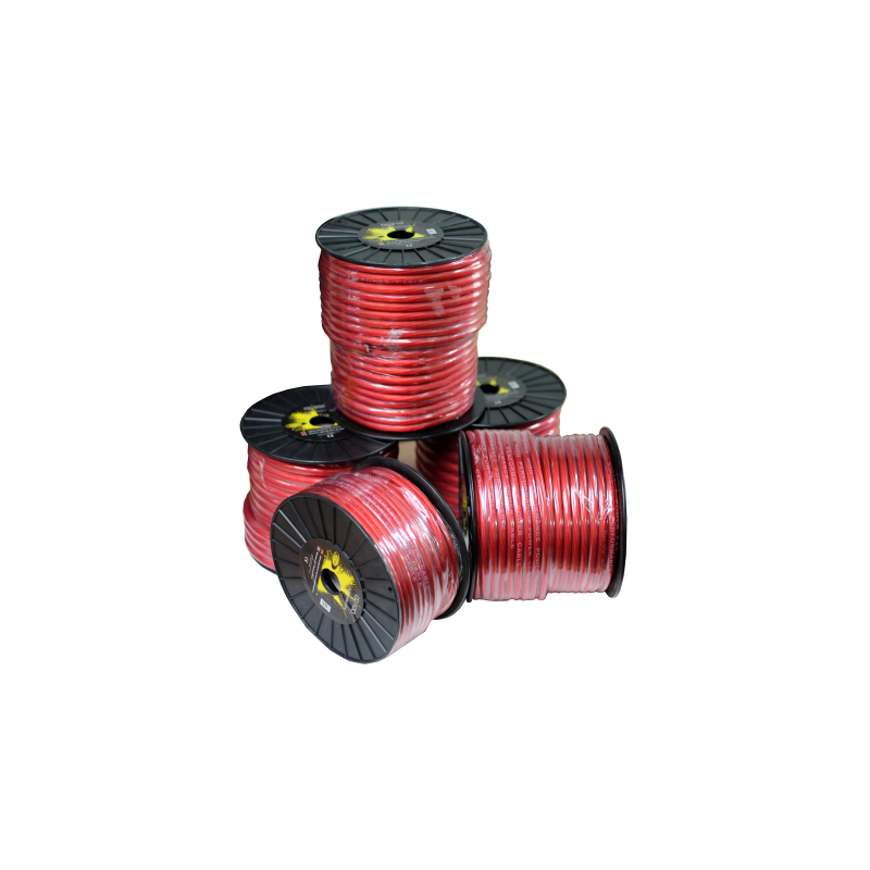 Cable pure OFC black 20 mm Coil 20 mts