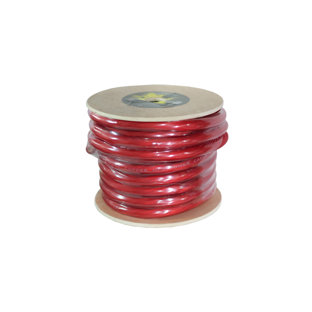 Cable puro OFC rojo de 20 mm. Bobina 20 mts