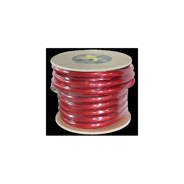 Cabo puro OFC vermelho de 20 mm Bobina 20 mts