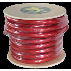 Câble pur OFC rouge 50 mm Bobine de 15 mts