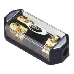 Repartidor con portafusibles ANL 1 entrada 50 mm 2 salidas 21 mm