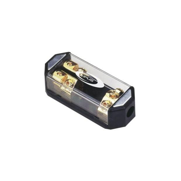 Rivenditore con portafusibile ANL 1 a 50 mm 2 uscite 21 mm