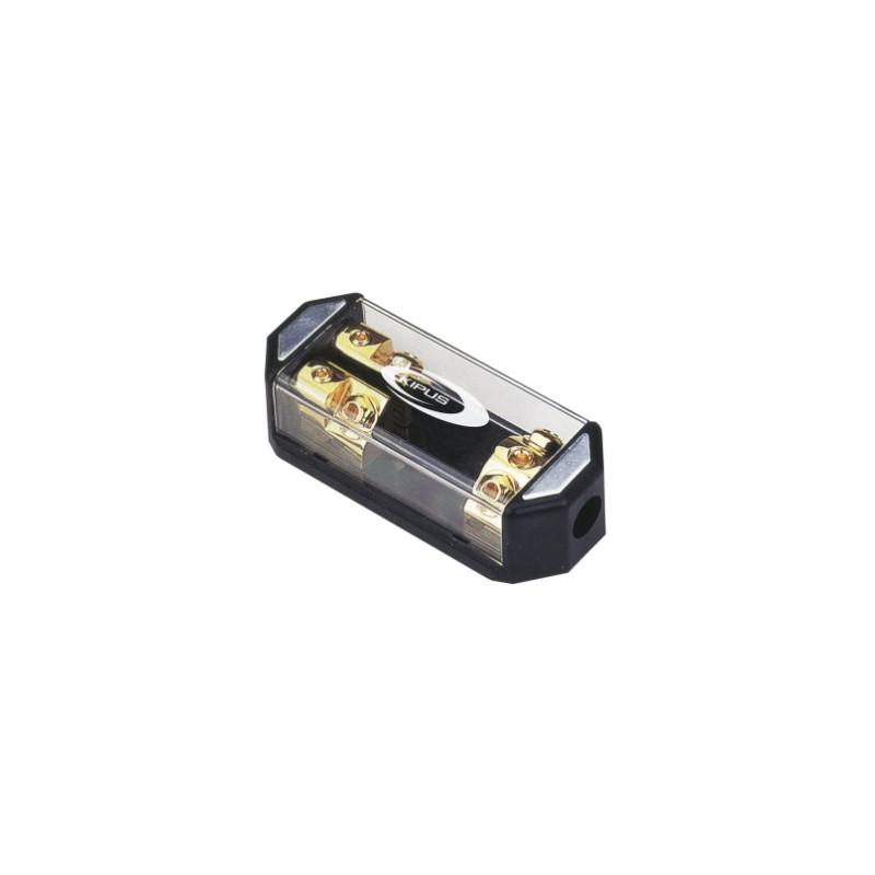 Dealer mit sicherungshalter ANL 1 eingang 50 mm 2 ausgänge 21 mm