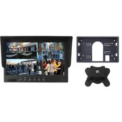 """Monitor de 7"""", com 4 entradas de vídeo (sistema quad) RCA"""