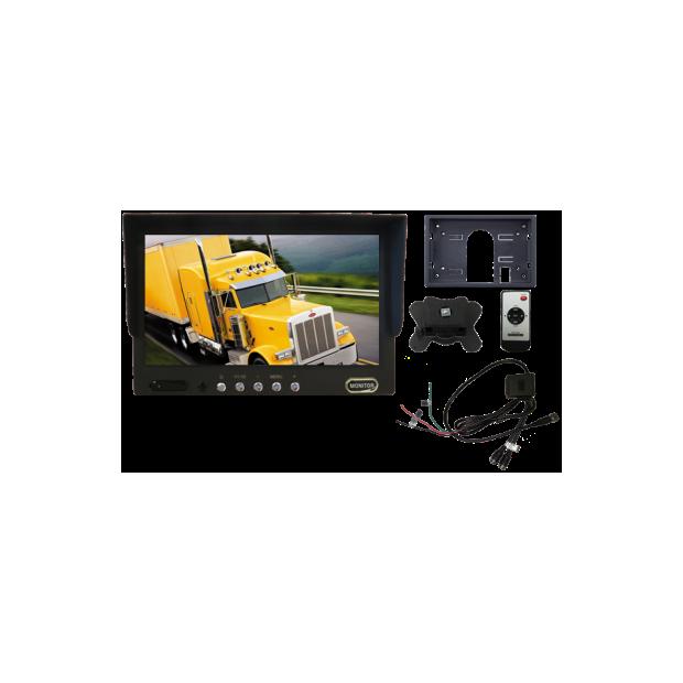 """7"""" Monitor mit 2 eingängen für audio und video"""