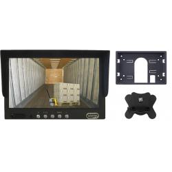 "Monitor de 7"", com 2 entradas de vídeo RCA - Tipo 1"