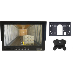 """Monitor de 7"""" con 2 entradas de vídeo por RCA - Tipo 1"""