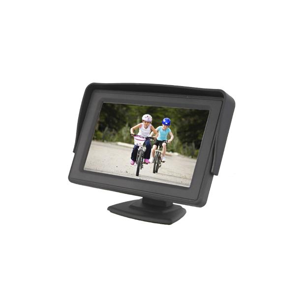"Monitor 4.3"" 2 video input RCA"