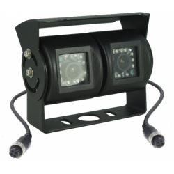 Câmera universal de marcha-atrás com conector à prova de água (4-pin) - Tipo 1