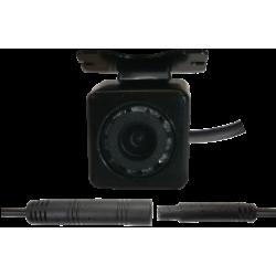 Câmera universal de marcha-atrás alta definição e leds para visão noturna, conector RCA - Tipo 6