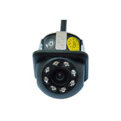 Universal camera reverse mount with leds for night vision, RCA connector - Type 10