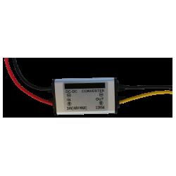 Conversor de voltaje de 24 voltios a 12 voltios.  5 amperios