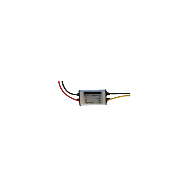 Conversor de tensão de 24 volts para 12 volts.  5 amperes