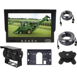 """7"""" Monitor mit 2 video-eingänge, kamera-nachtsicht verdrahtung von 5 meter und anderen kabeln 10 meter"""