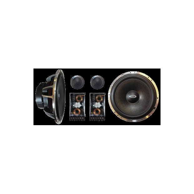 Jeu de haut-parleurs à 2 voies séparées de la SÉRIE PRO - Type 41