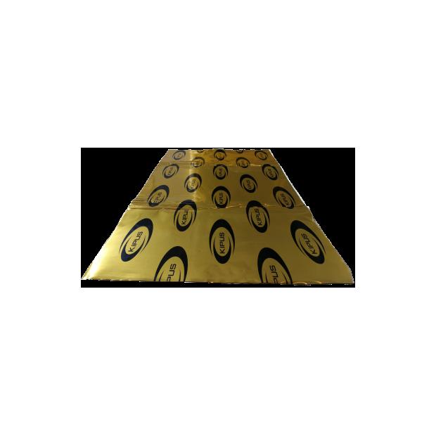 Pack de 5 peças insonorizantes auto-adesivas de 460x800 mm de espessura e 2,1 mm (especial car áudio) - Tipo 2