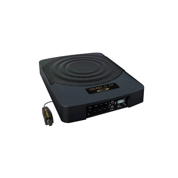 """Subwoofer self-powered 10"""" for installation in places of space reduced NITRO SERIES - Type 9"""