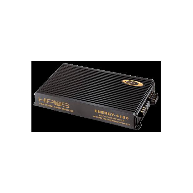 Amplificador de quatro canais com 4 ventiladores ENERGY SERIES - Tipo 8