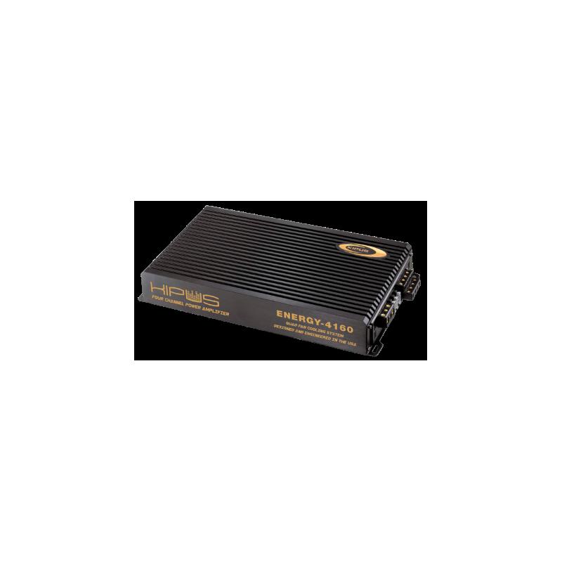 Verstärker vier kanäle mit 4 ventilatoren ENERGY SERIES - Typ 8