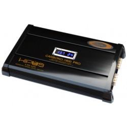 Amplificateur mono numérique réticulable de CARBONE de la SÉRIE - Type 6