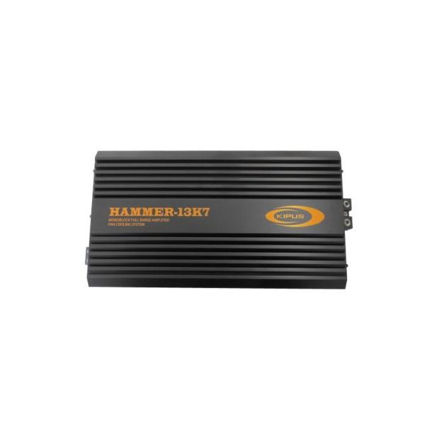Amplificateur mono numérique d'une gamme complète de MARTEAUX de la SÉRIE - Type 3