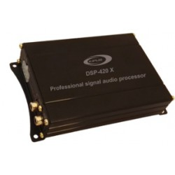 Digital signal processor, 2 input channels and 4 output channels
