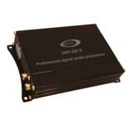 Processeur de signal numérique, 2 canaux d'entrée et 4 canaux de sortie