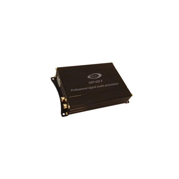 Procesador digital de señal, 2 canales de entrada y 4 canales de salida