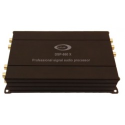 Procesador digital de señal, 6 canales de entrada y 8 canales de salida