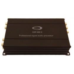 Processador digital de sinal, 6 canais de entrada e 8 canais de saída