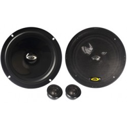 Set of speakers from two separate pathways, with grids of MAGIC-SERIES - Type 46