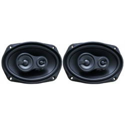 "Game speakers 6x9"" three-way, with grills PRO-SERIES - Type 39"
