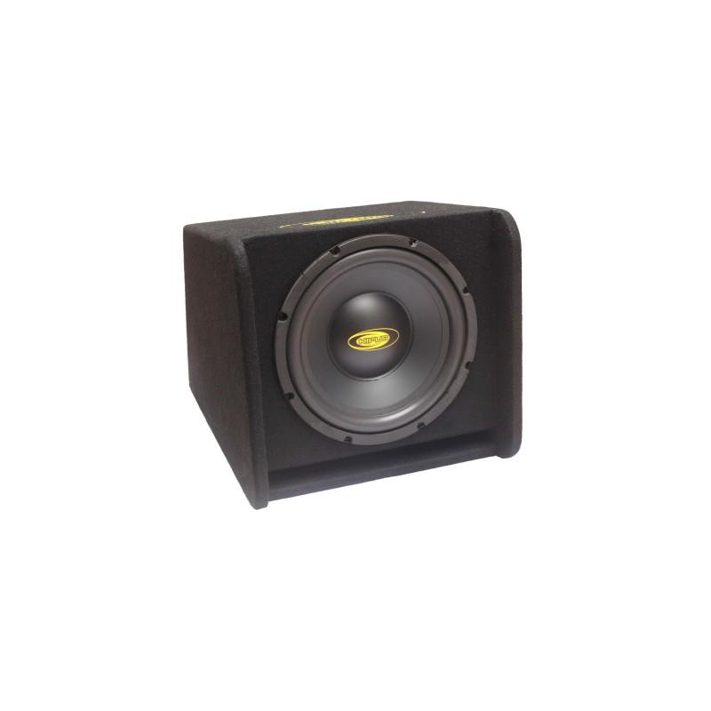 """Boîte de bass-reflex de 12"""" avec port continu.1.000 w max 250 w rms"""